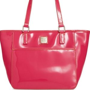 DOONEY AND BOURKE Pink Patent Small Salem Tote